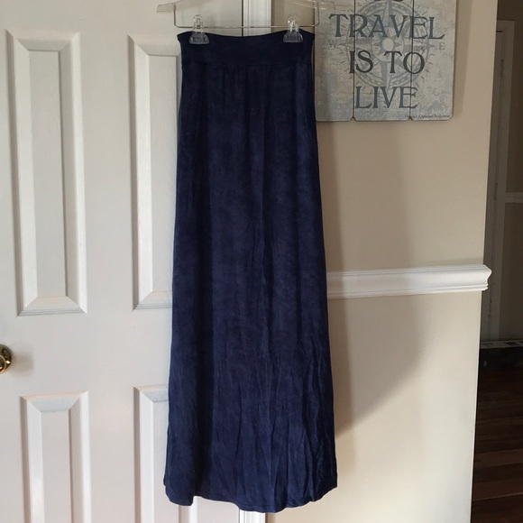Rubbish Dresses & Skirts - Rubbish Indigo Maxi Skirt Sz XS